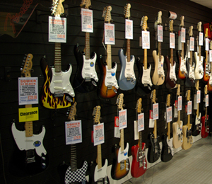 Rimmers Guitars in Wigan